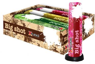 "Bombenrohr Xplode ""Big Shot XP 5151"" Silvester Single-Shot - 3er Set"