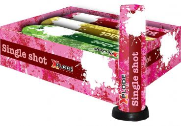 "Bombenrohr Xplode ""Big Shot XP 5152"" Silvester Single-Shot - 3er Set"